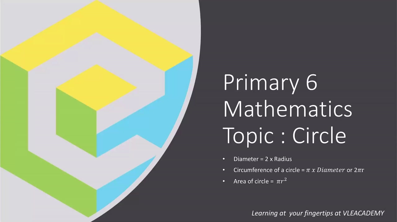 Primary 6 Maths (Topic Circle)