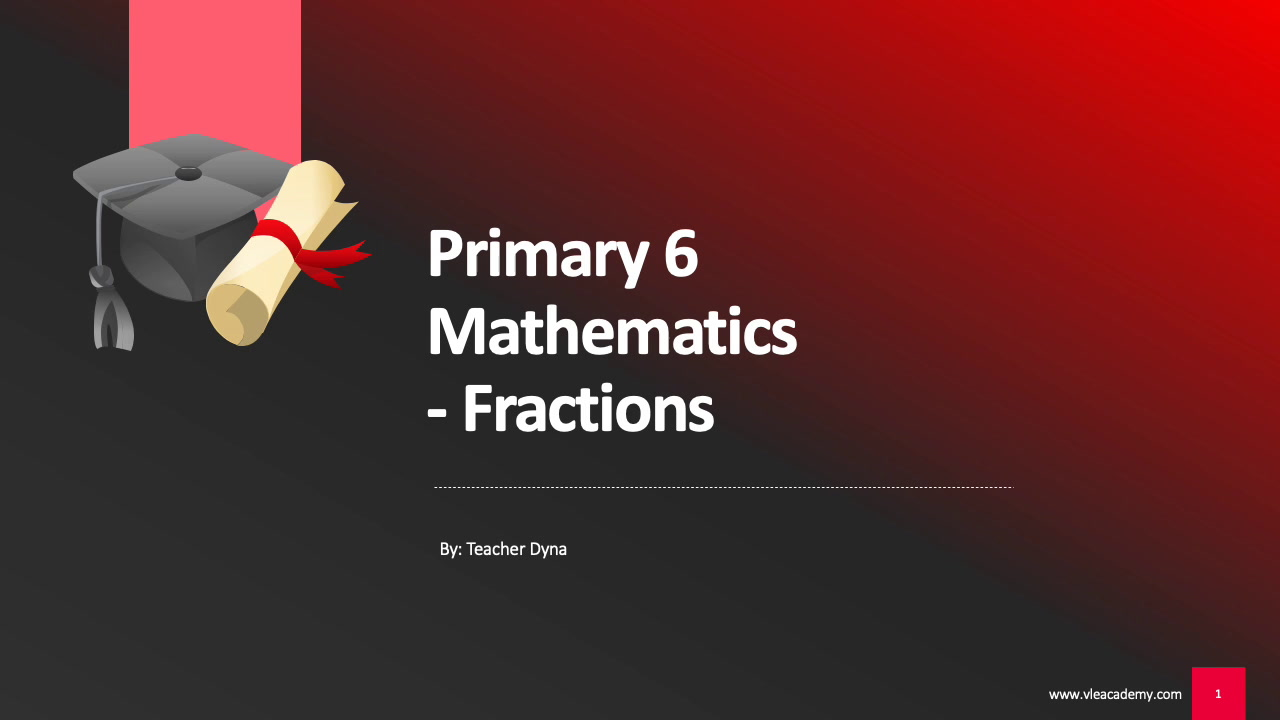 Primary 6 Maths (Fractions)